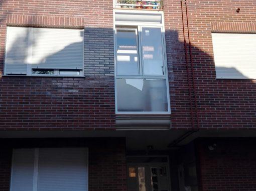 pasos de un cerramiento de terraza